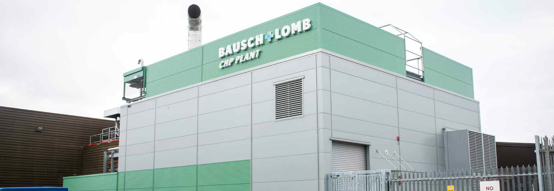 Baush Lomb Manufacturing Plant Industrial Chp Case