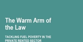 The Warm Arm of the Law: Tackling fuel poverty in the private rented sector | ADE news