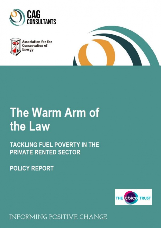 The Warm Arm of the Law: Tackling fuel poverty in the private rented sector | ADE publications