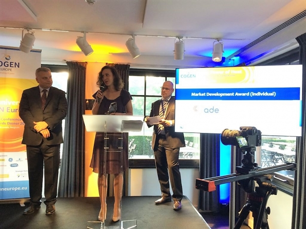 ADE Senior Policy Research Manager's CHP model recognised | ADE ade-news