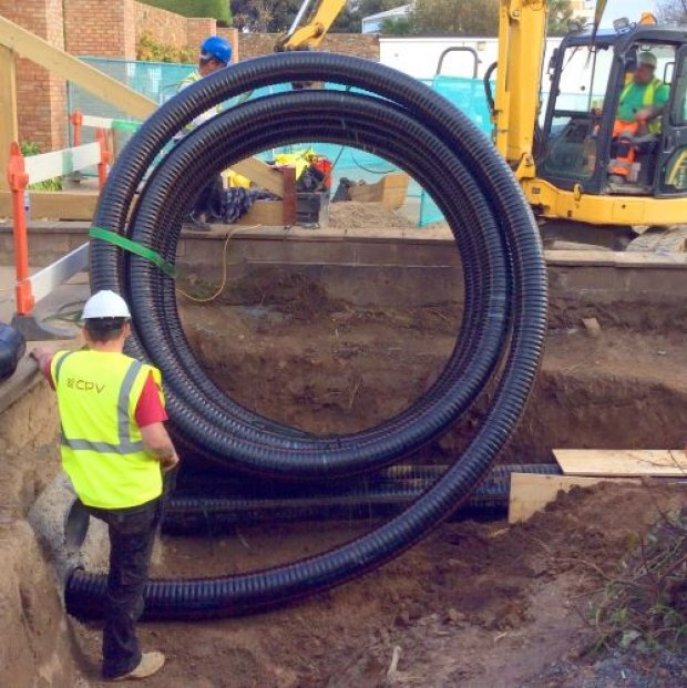 Reinforced polymers for Jersey heat network | ADE market-news