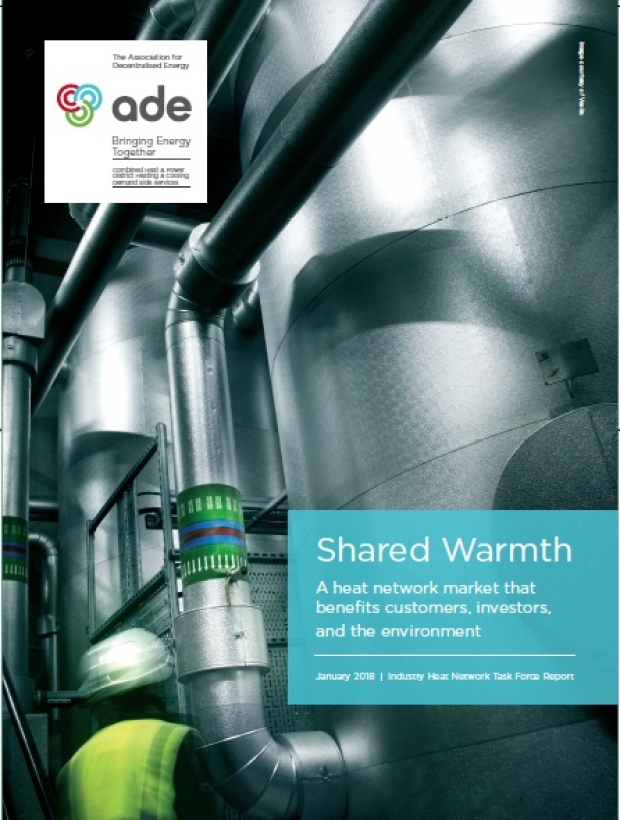 Shared Warmth | A heat network market that benefits customers, investors, and the environment | ADE publications
