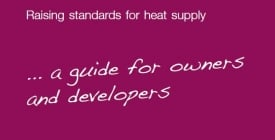 Code of Practice for Heat Networks (ADE & CIBSE) | ADE news