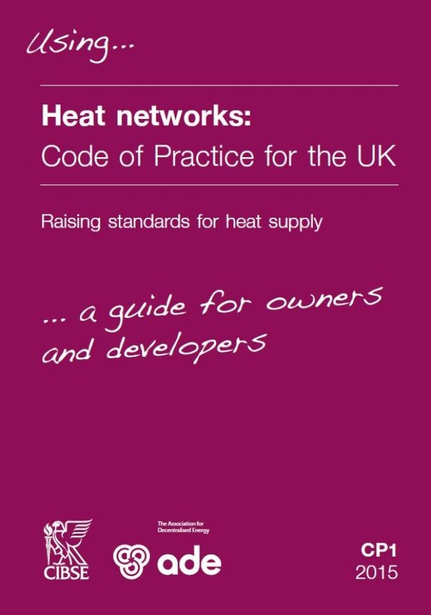 Code of Practice for Heat Networks (ADE & CIBSE) | ADE guidance