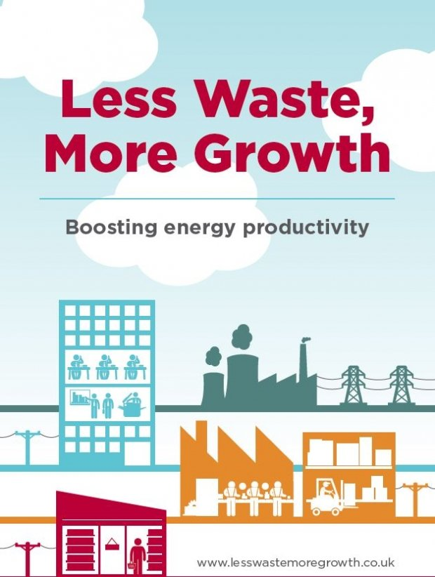 Less waste, more growth - Boosting energy productivity | ADE publications