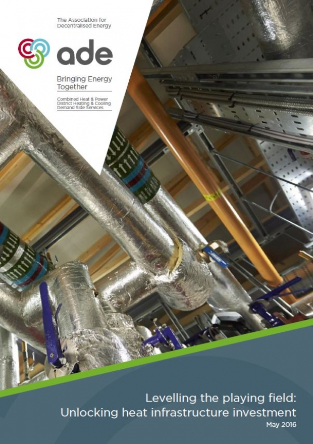 Levelling the playing field: Unlocking heat infrastructure investment | ADE publications